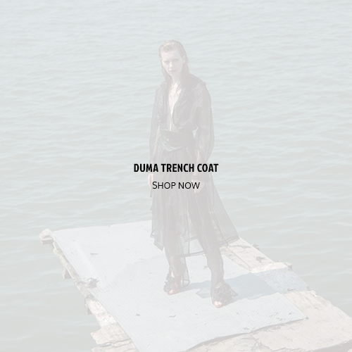 asoi oct - duma trench coat -
