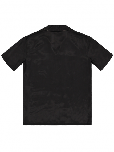 C SHIRT BLACK BACK