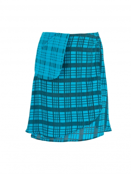 GATHER WRAP SKIRT CHICA
